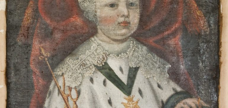 Thời thơ ấu của vua Louis XIV